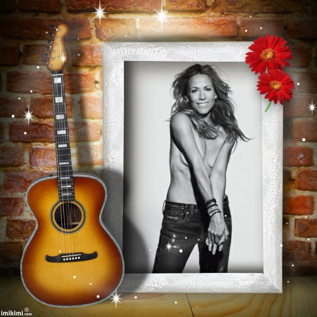 "Sheryl Crow.""hi honey"""