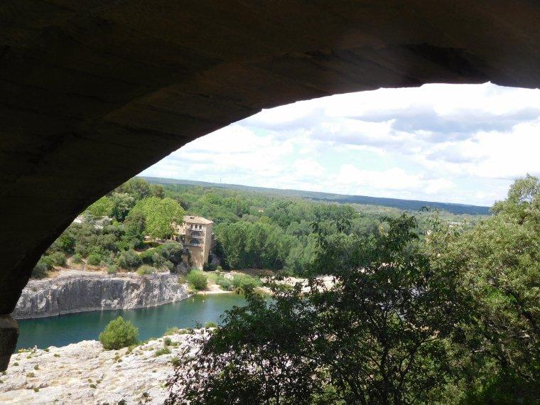 Le pont du Gard.