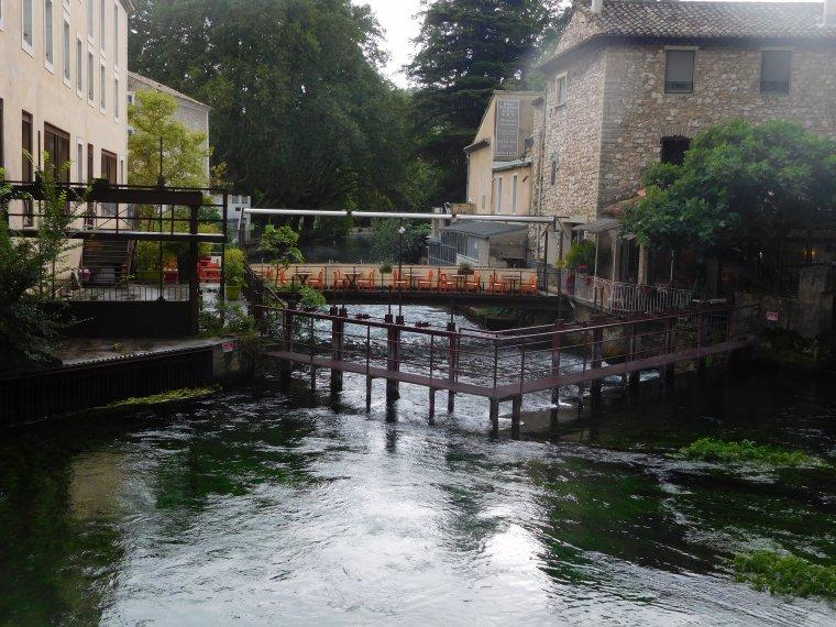 La fontaine du Vaucluse.