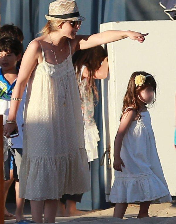 sarah et sa fille Charlotte Grace