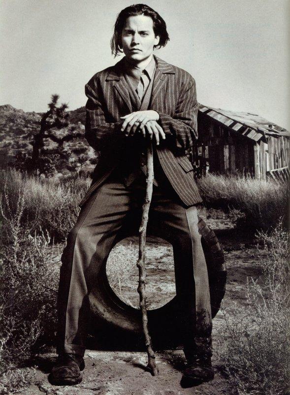 Johnny Depp, par Mark Seliger