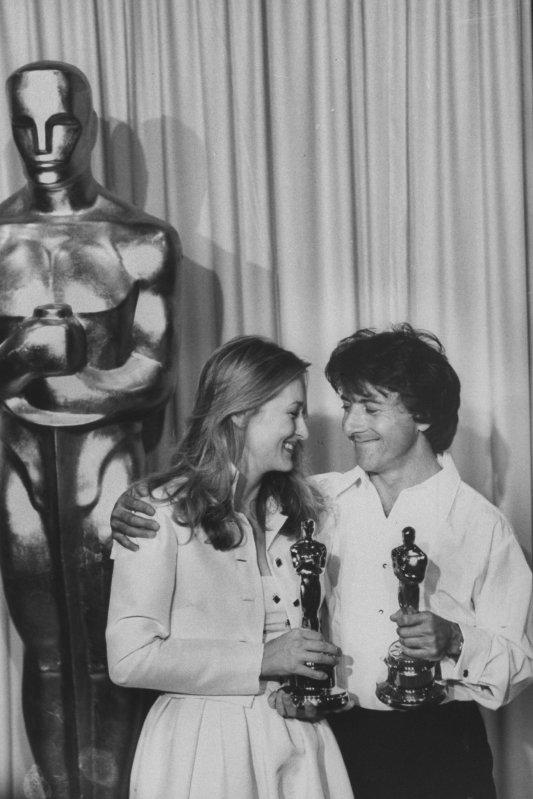 Meryl Streep et Dustin Hoffman, récompensés pour Kramer contre Kramer