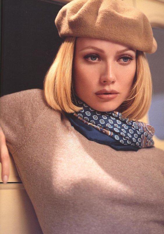 Gwyneth Paltrow en Bonnie Parker, par Kevyn Aucoin