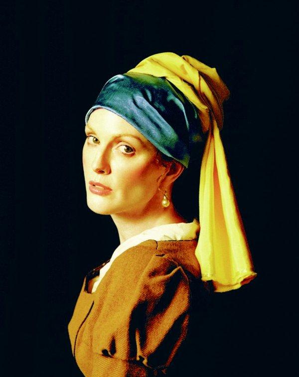 Julianne Moore est une oeuvre d'art, par Michael Thompson.