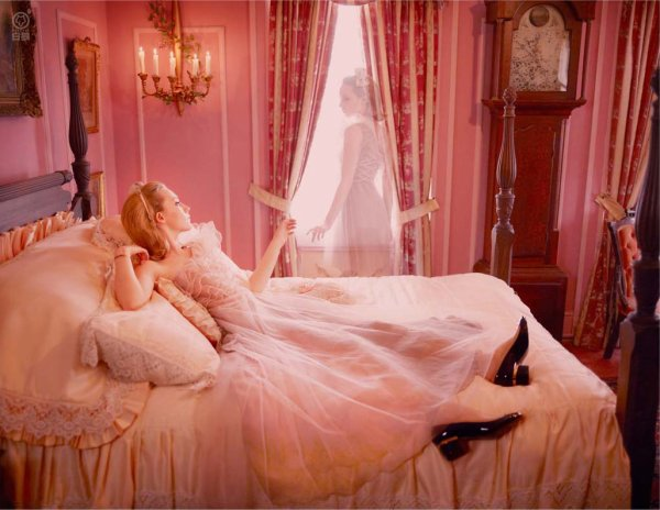 In bed...not with Madonna