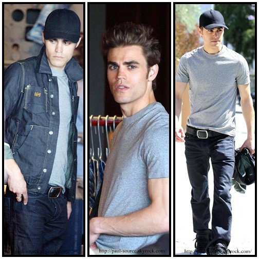 Paul Wesley : son look le week-end.