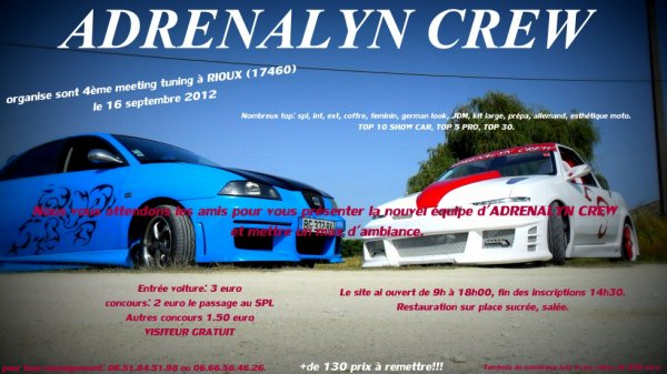 Adrenalyn crew