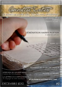 Le webzine de Génération Écriture