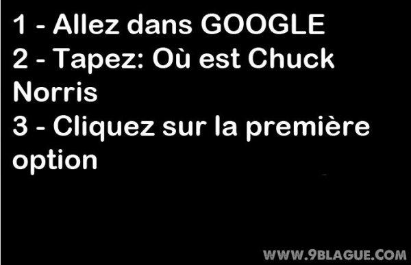 Où est Chuck Norris