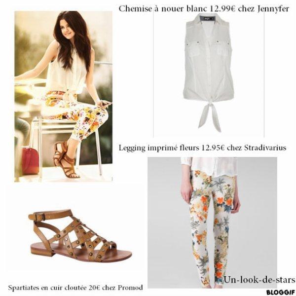 Selena Gomez premier look