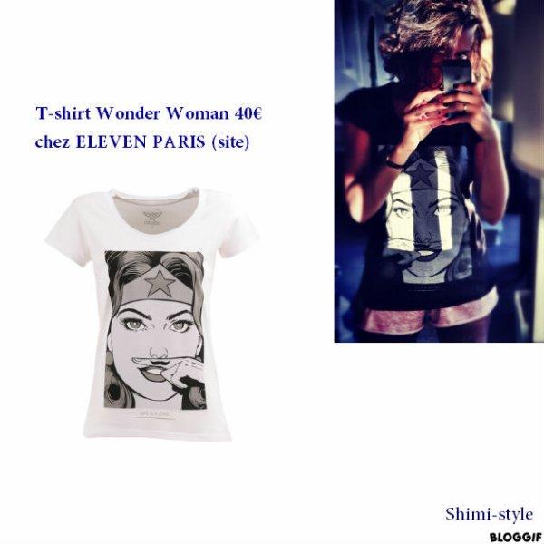 T-shirt de Shy'm