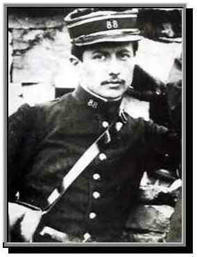 Lieutenant Alain Fournier. Le père du Grand Meaulnes.