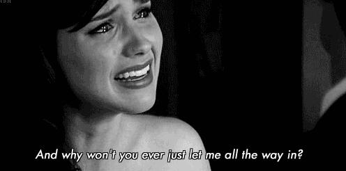 c'est malheureux d'être triste.