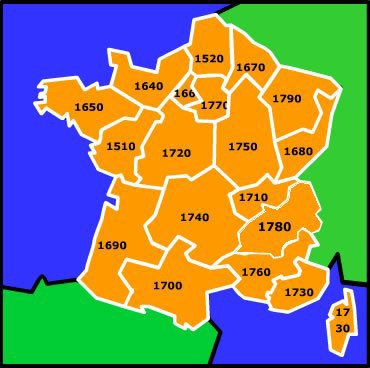 Les districts