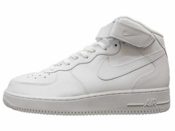 Nike air force montante blanche