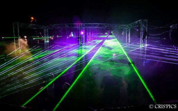 Mix Dj Ronuald & Show Laser by Neodym Laser Entertainment @ Open Air Mousse (Morhet - Belgique) 16/08/2014
