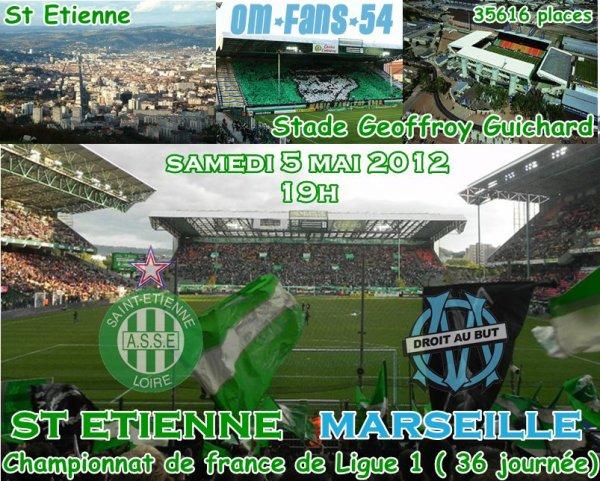 St Etienne-OM c'est SUR !!!