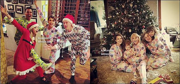 Jessica et sa famille parfaite ont passé le réveillon et le matin de Noël avec celle de Jaime King et son mari.