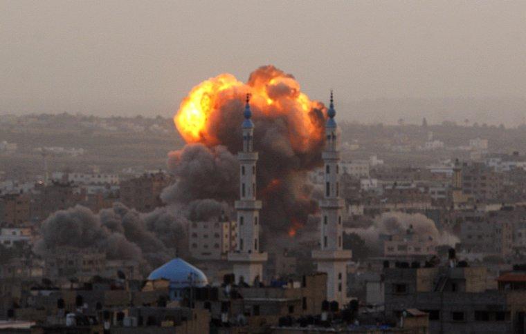 Genocide de la bande de Gaza 2012