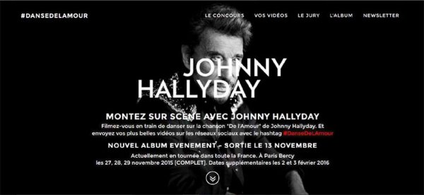 News de Johnny Hallyday