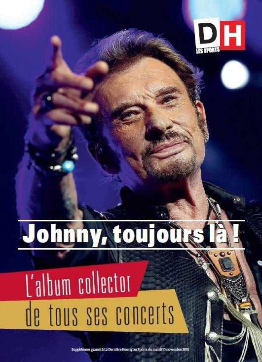 Johnny Hallyday dans votre DH de ce mardi 10 novembre !