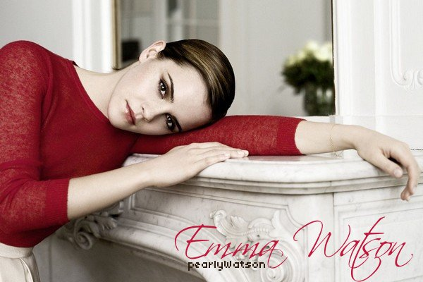 Emma Watson  Lancôme: Trésor Midnight Rose  on pearlyWatson