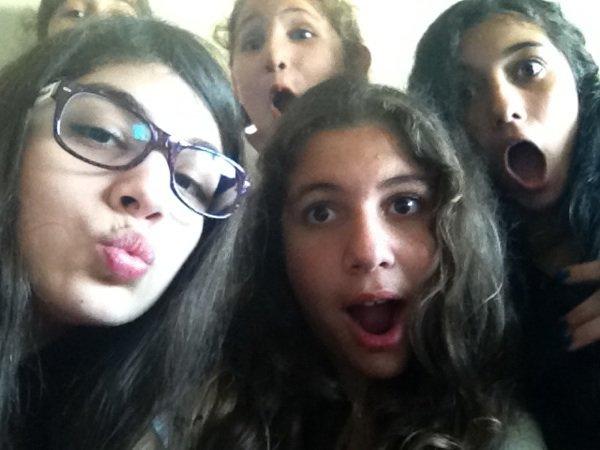 Me & my friends!!! Je vous aime trop :*