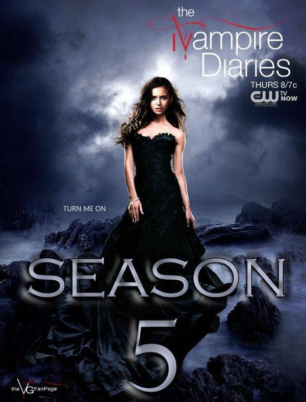 Vampire diaries saison 5 !! :D