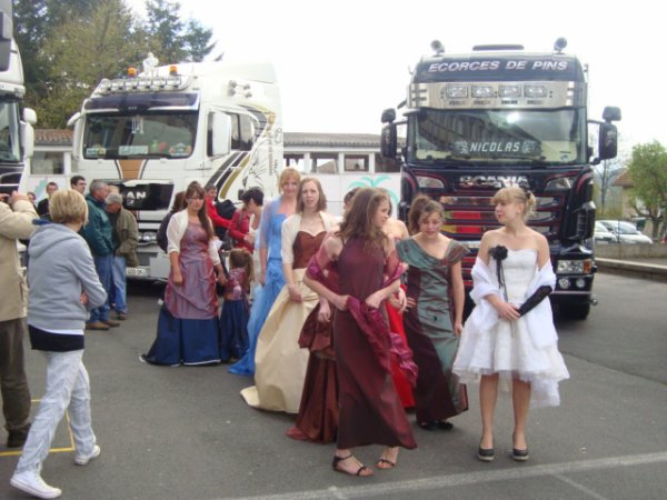 Les mini-routiers et les demoiselles !!!