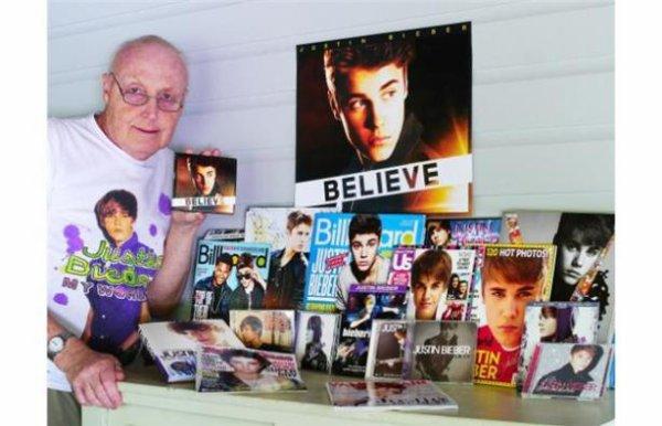 Justin Bieber : Il redonne espoir à un fan de 71 ans atteint de cancer
