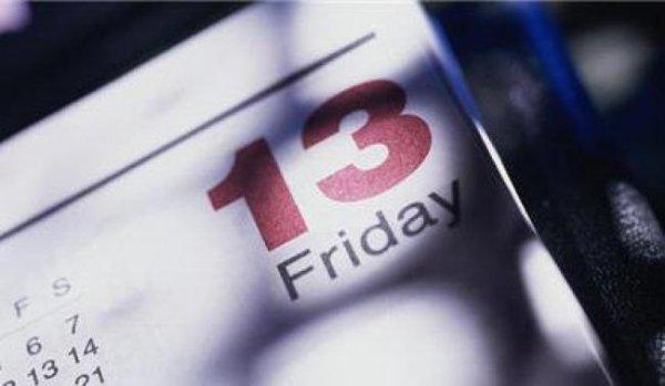 Faut-il avoir peur du vendredi 13