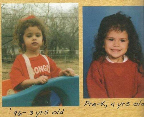 Selena Gomez : Les photos de son enfance  partie(2)