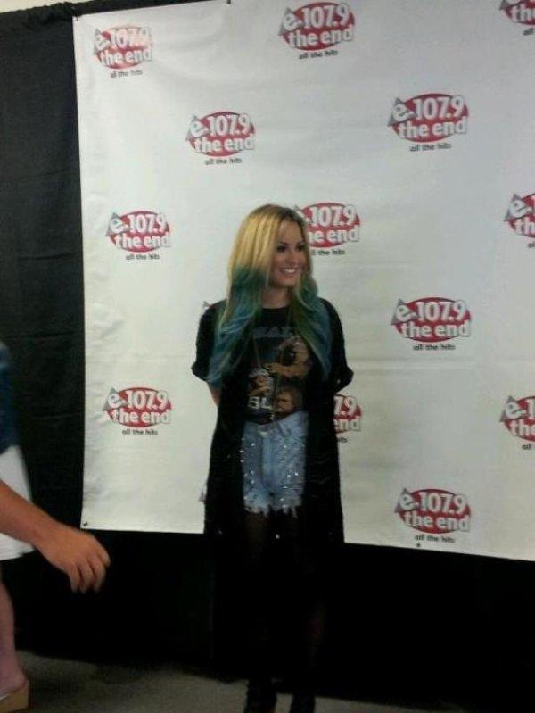 Demi Lovato : Elle change une nouvelle fois de couleur de cheveux !