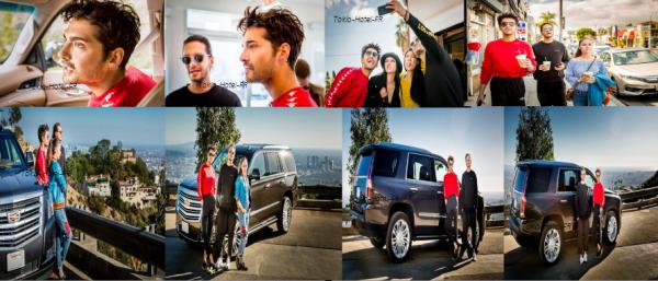 • Photoshoot pour Cadillac •