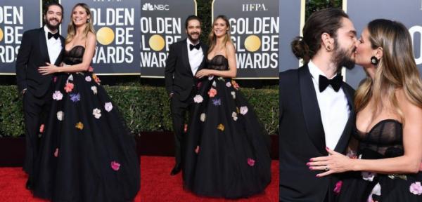 Tom était présent aux Golden Globes Awards le 6 janvier aux cotés d'Heidi Khlum avec laquelle il va se marier bientôt.