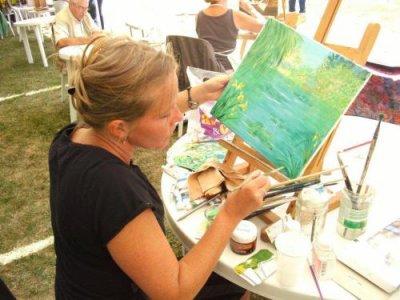 je peinds pour le concours