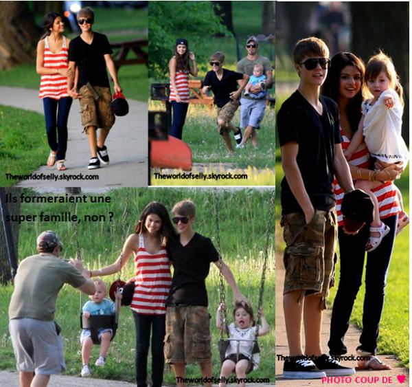 Selena et Justin au Texas + Selena et Justin au pays natale de Justin avec son père