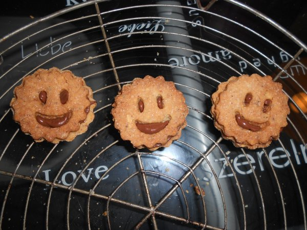 photo de mes biscuit sourire ;)
