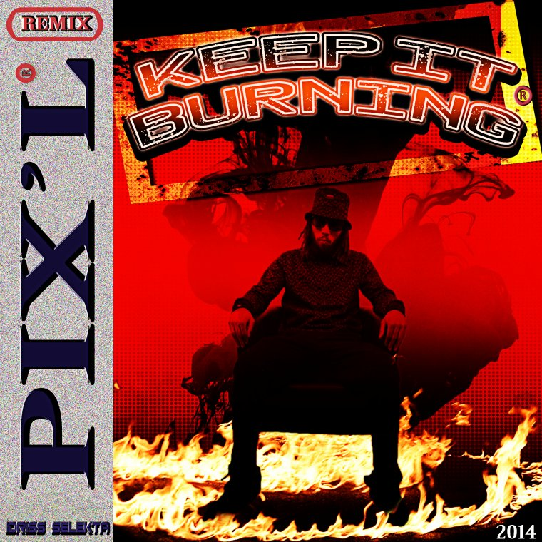 Idriss Sélèkta - Pix'l - Keep It Burning - Remix 2014