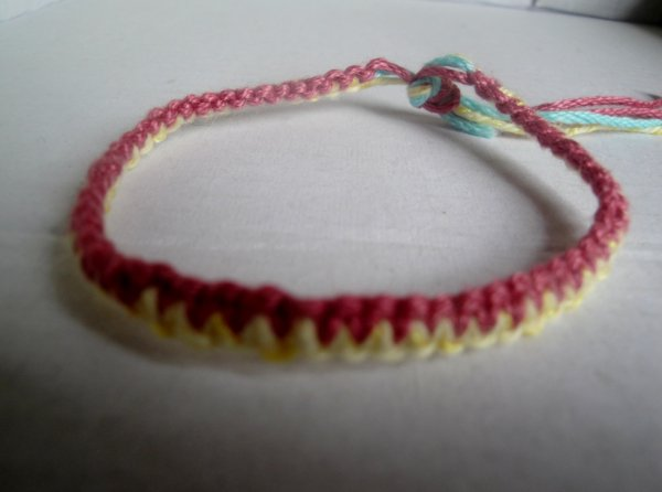 N°17  Bracelet deux couleurs