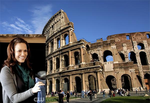 En ce moment même Joy serait en Italie et plus précisément à Rome. [/size]
