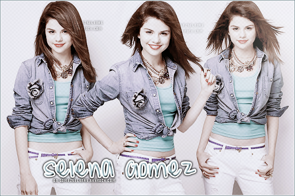 ]*    -> Ré-ouverture de GomezSelenas ; ta source d'actualité sur Selena Marie Gomez !]*