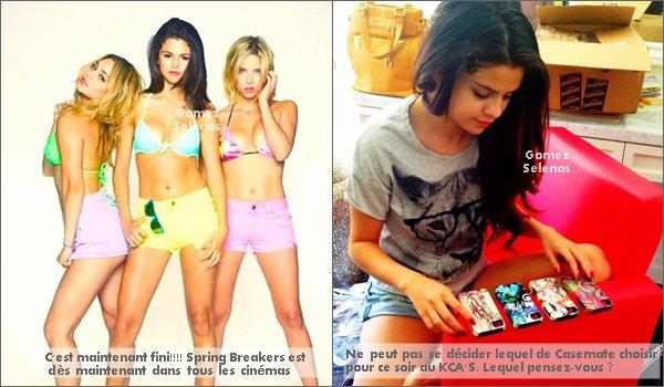 *   22.03.13 - Selena G. a été vue quittant son domicile vers une voiture à Los Angeles.*