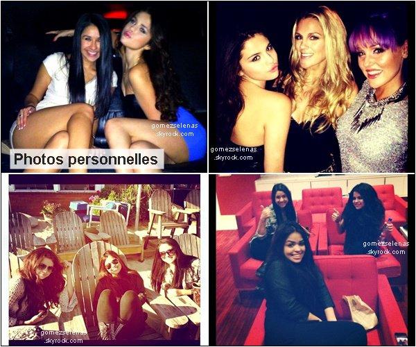 *   04/02/13  →   Le matin, Selena G., sa mère et sa cousine ont quittées un bâtiment à Los Angeles.  04/02/13-  → Puis, Selena a passé l'après-midi sur une plage de Malibu avec des amis. Top/Flop?04/02/13--  → En fin d'après-midi, Selena et ses amis ont quittés le « Paradise Cove » de Malibu.*