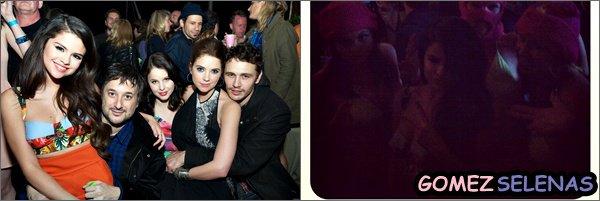 *   10/03/13 - Sel, Ashley et Rachel étaient à l'avant première de SB au SXSW Film Festival à Austin  → Oui, Vanessa H. n'y a pas participé car une rumeur dit qu'elle était malade... Dommage pour ses fans!.. N'oubliez pas que le film, Spring Breakers n'est pas encore disponible dans les cinémas aux Etats-Unis.*