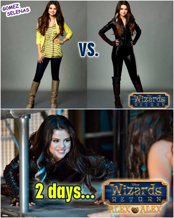 *    → Stills de The Wizards of Place : Alex vs Alex. Bientôt sur D. Channel (USA)    *