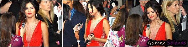 *   14/03/13 - Selena G était à l'avant-première de Spring Breakers à Los Angeles. *