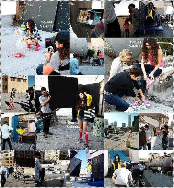 *   → Découvrez des Behinds the Scenes du photoshoot pour Adidas Neo réalisé fin 2012. *