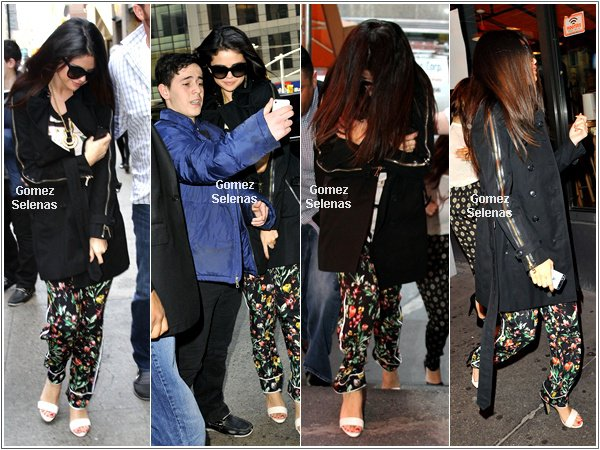 *   24/04/13 - La longue journée de Candids de Selena Gomez en détails. * Prêt?.... *