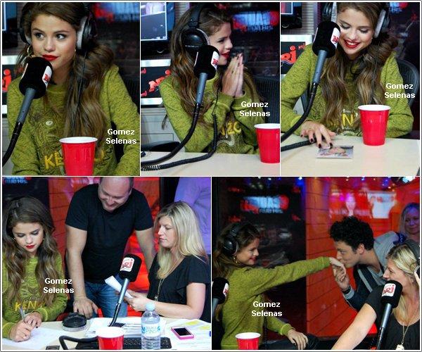 *   24.05.13 - Selena était l'invitée du 21H-minuit de Cauet sur Nrj (émission radio) à Paris *